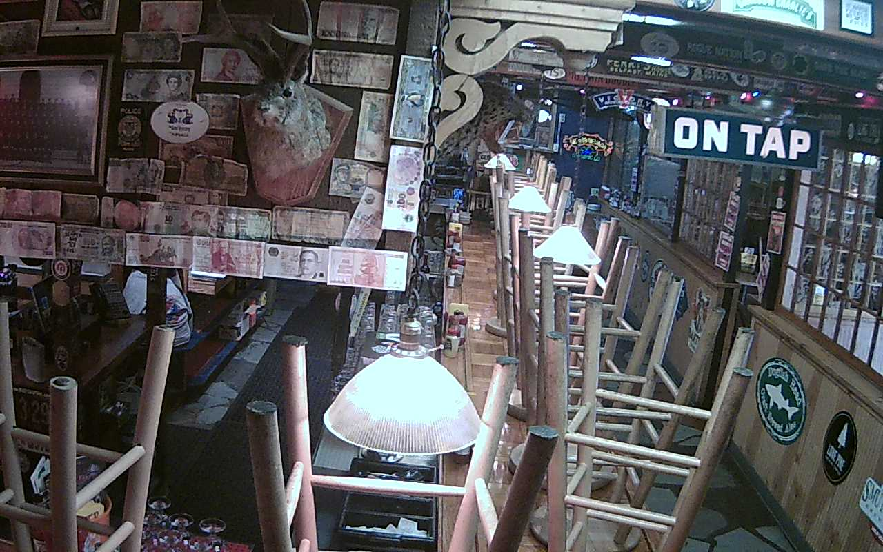 Bar cam in New York City